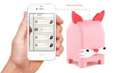 Toymail WIFI Messaging Toy - Snort the Pig Mailman - record voice messages and send them to your child, and they can send you one back! great for family and friends who live far or for parents who work. Pet Toys, Kids Toys, Children's Toys, Out Of Office Message, Talking Toys, Wifi Connect, Phone Messages, Gadget Gifts, Gadgets And Gizmos