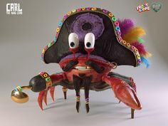 Carl The king Crab on Behance