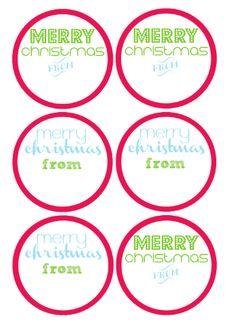 Free printable merry christmas mason jar gift labels christmas free printables for diy mason jar gifts negle Gallery