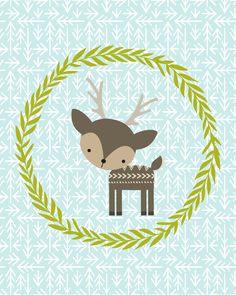 Woodland bebê animais Free Downloads | Mishmash por Ash