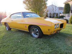 1970 Pontiac GTO Judge GTO Judge 455 Ram Air