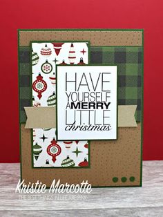 The best things in life are Pink.: Echo Park's A Perfect Christmas collection - 38 cards from one 6x6 paper pad