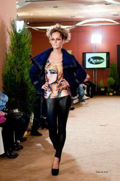 Conjunto presentado en la Fashion Show de Gijón.