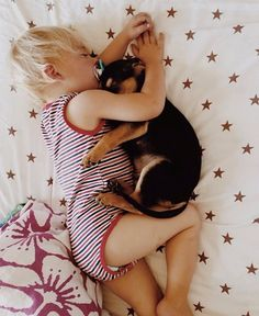 all these photos KILL me. seriously cute. toddler sleeping with his puppy