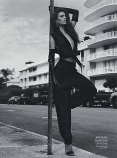 Cameron Russell Gives 'Miami Heat' in Benny Horne's Vogue Australia February 2013 Images - 3 Sensual Fashion Editorials | Art Exhibits - Anne of Carversville Women's News