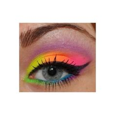 Hippie nails Nailed It! ❤ liked on Polyvore featuring beauty products, nail care, makeup, eyes and eye makeup