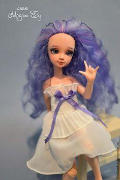 Коллекционная шарнирная кукла, ООАК гибрид Курн и Азон. Автор - Мадам Бу.
