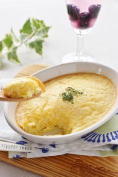 ジャガイモおろし入り、卵のフワフワスフレ by さっちん (佐野幸子) 「写真がきれい」×「つくりやすい」×「美味しい」お料理と出会えるレシピサイト「Nadia | ナディア」プロの料理を無料で検索。実用的な節約簡単レシピからおもてなしレシピまで。有名レシピブロガーの料理動画も満載!お気に入りのレシピが保存できるSNS。