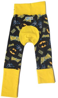 Batman Dark Hero  Maxaloones Bum Pants / by KiddieDudsByTrixie