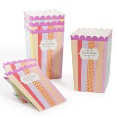 6 sacchetti di popcorn Candy