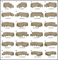 Sectional sofa Configurations