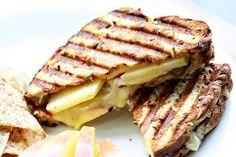 brie & apple panini