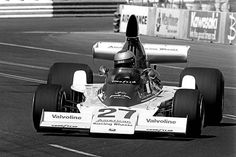 Mario Andretti drives the Parnelli Cosworth in the inaugural United States Grand Prix West on March 28 on the Long Beach Street Circuit. Mario Andretti, F1 Racing, Long Beach, Formula 1, Grand Prix, Race Cars, Automobile, Motor Sport, Circuit