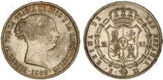20 Reales de Isabel II,