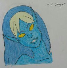 I'm Blue Da Ba Dee by diangeloshepherd.deviantart