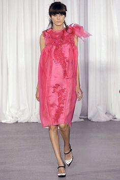 Rodarte Spring 2007 Ready-to-Wear Fashion Show - Irina Lazareanu