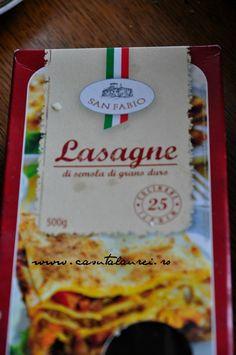 Lasagna cu carne tocata, delicioasa mancare italiana- Casuta Laurei Bechamel, Lasagna, Pasta, Bologna, Ketchup, Bread, Food, Brot, Essen
