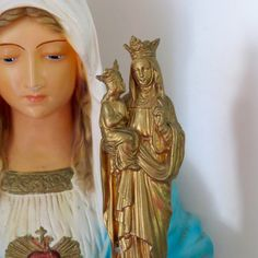 Beautiful Early 1900's St Anne and VIRGIN MARY 6 by VINTAGELOURDES