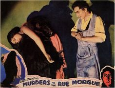 Bela Lugosi em MURDERS IN THE RUE MORGUE