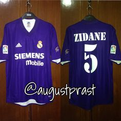3795201592b Real Madrid 2002-2003 Third  5 Zidane