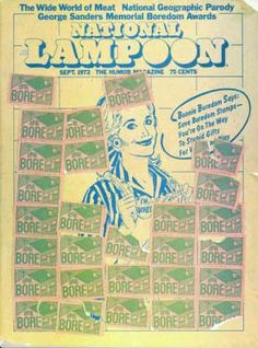 National Lampoon Magazine # 30 - September 1972 pdf Back Issues Collection Archives Download DVD Ebay