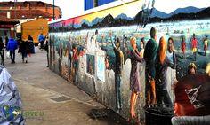Venice - Street Painting Street Painting, Loving U, Venice, Street Mural, Venice Italy