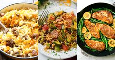 Keep your back to school sanity in tact with these easy skillet meals!