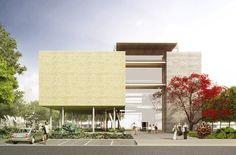baixa_MTT_3D_00_C4.jpg Museu do Trabalho e do Trabalhador. São Bernardo do Campo, SP, Brasil. Projeto: Escritório 'Brasil Arquitetura'.