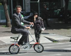 my happy boss riding strida