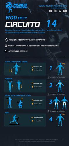Circuito para perder peso y eliminar grasa MundoNutrición