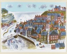 Staithes, North Yorkshire, 1997, Bernard Cheese