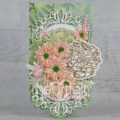Heartfelt Creations, Decorative Boxes, Clear Glue, Vellum Paper, Autumn Wreaths, Pink Peonies, Summer Wreath, Flower Shape, Greeting Cards Handmade