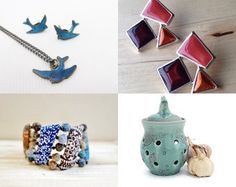 Teusday Treasures by Alison Koh on Etsy--Pinned+with+TreasuryPin.com