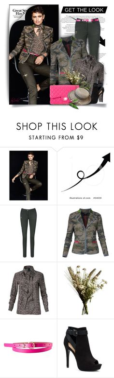 """""""Get the Look"""" by eula-eldridge-tolliver ❤ liked on Polyvore featuring Abigail Ahern, Apt. 9 and Chanel"""