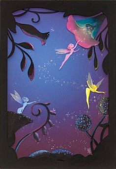"""Sunlit Swing"" & ""Magic By Moonlight (Fantasia Fairies)"" by Liana Hee for Pop Fusion at Wonderground Gallery Arte Disney, Disney Art, Magical Creatures, Fantasy Creatures, Fantasy Kunst, Fantasy Art, Fairy Dust, Fairy Tales, Animation"