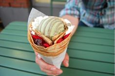 Japanese Crepe Shop Japanese crepes now available
