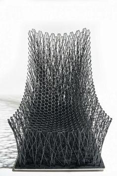 Diseño, tendencias, creatividad e innovación - loveDESIGNnews: LUNO ARMCHAIR, una silla de cuerdas de fibras de carbono entretejidas http://www.lovedesignnews.com/2014/06/luno-armchair-una-silla-de-cuerdas-de.html