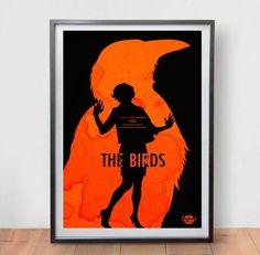 The-Birds-Movie-Poster-Film-Vintage-Art-Retro-Print-Alfred-Hitchcock