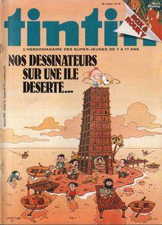 Le Journal de Tintin - Edition Belge - N°  1839 - 1981-50 - Mardi 15 Décembre 1981 - Couverture : Serge Ernst