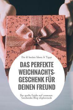Deinem #Freund ein schönes #Weihnachtsgeschenk zu machen ist schwer?! Die Zeiten sind vorbei! Schau dir unseren großen #Geschenke für den Freund Guide an. Die besten #Geschenkideen & Tipps für ein tolles #Weihnachtsfest mit deinem #Partner #bringjoytogiving #xmas #geschenkfürfreund
