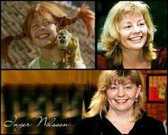 Inger Nilsson was 'Pippi Langkous. Pippi Longstocking, A Course In Miracles, Hollywood Icons, Women In History, Good People, My Childhood, Good Movies, True Stories, Childrens Books