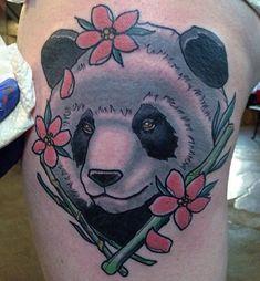 Images of panda tattoo – Tattoo 2020 Panda Bear Tattoos, Animal Tattoos, Tribal Butterfly Tattoo, Harley Quinn Tattoo, Panda Drawing, Tattoo Trends, Tattoo Ideas, Weird Tattoos, Best Tattoo Designs