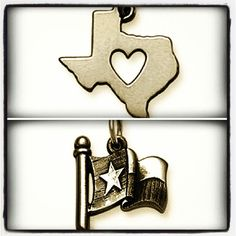 Texas Charms from James Avery Jewelry #JamesAvery #MyJamesAvery #Texas #Charms
