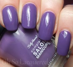 Sally Hansen Good To Grape - would look great with my glitters