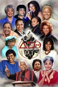 Image result for delta sigma theta sorority inc Famous Members