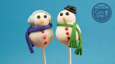 Haz tu Cake Pop navideño para estas navidades y sorprende a tus familiares y amigos!  #cakepops   #christmas   #repostería   #navidad   #diy  http://mundocakepop.com/cake-pop-navidad/cake-pop-muneco-de-nieve/