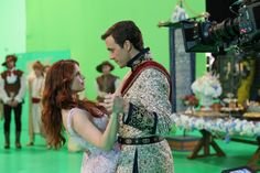 Ariel and Eric #OnceUponATime #BehindTheScenes