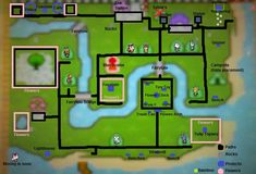 animal crossing new leaf town layouts - Google Search
