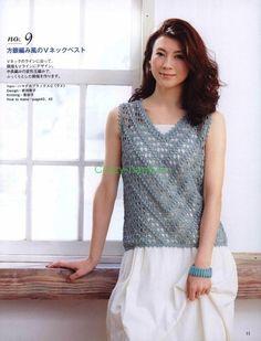 Отличная кофточка подойдет, как молодой девчонке, так и солидной даме. Элегантная вещь для настоящей леди.Модель взята из любимых мной азиатских журналов, как всегда очень интересная. Люблю эти жу…