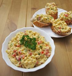 Tavaszi tojáskrém - Kifőztük, online gasztromagazin Feta, Good Food, Yummy Food, Hungarian Recipes, Paleo Diet, No Cook Meals, Food Inspiration, Macaroni And Cheese, Food And Drink